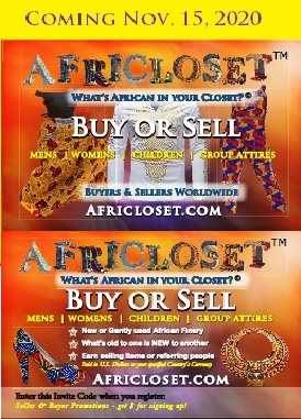 AfriCloset - Buy or Sell African Perfection